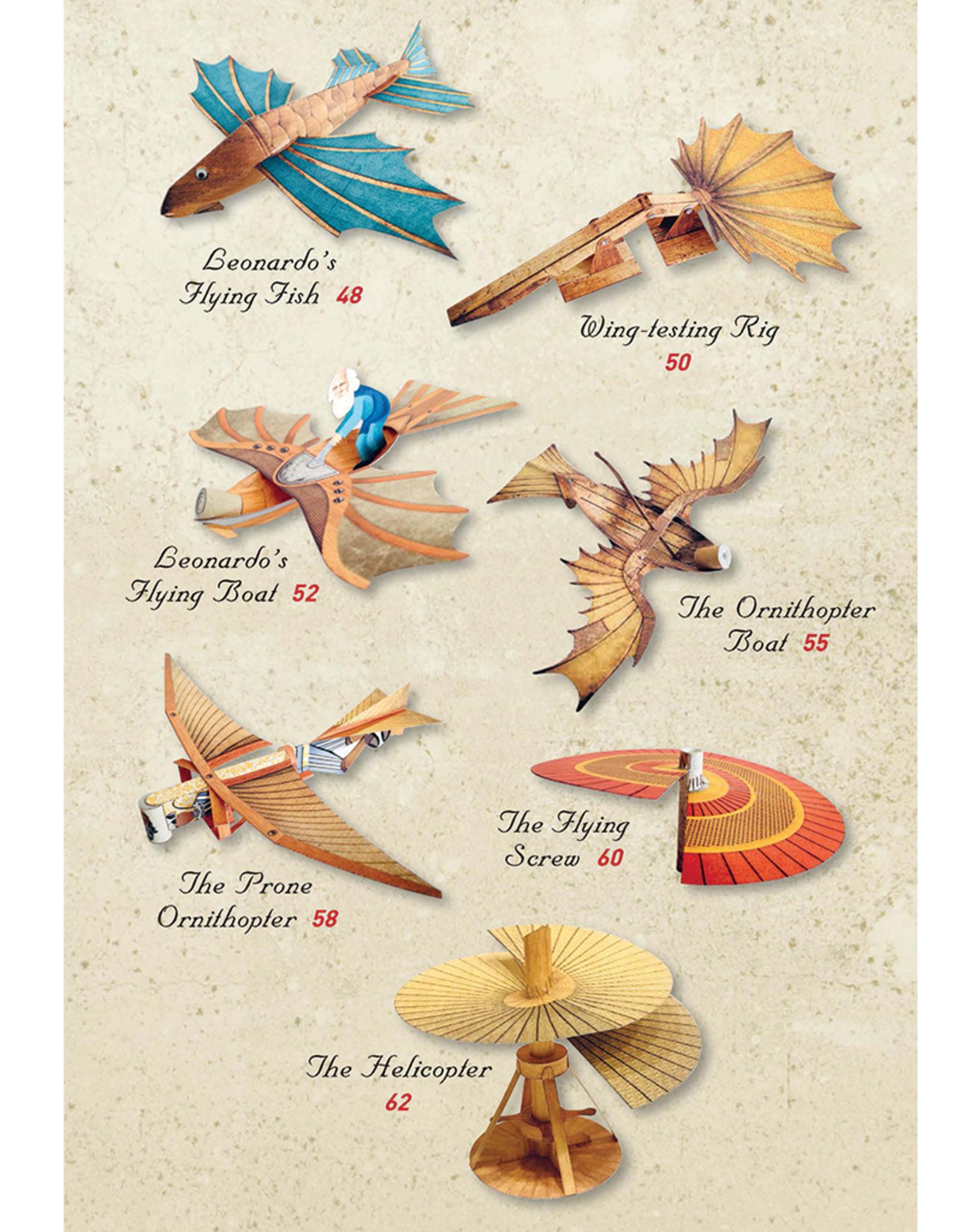 Leonardo da Vinci's Flying Machines Kit