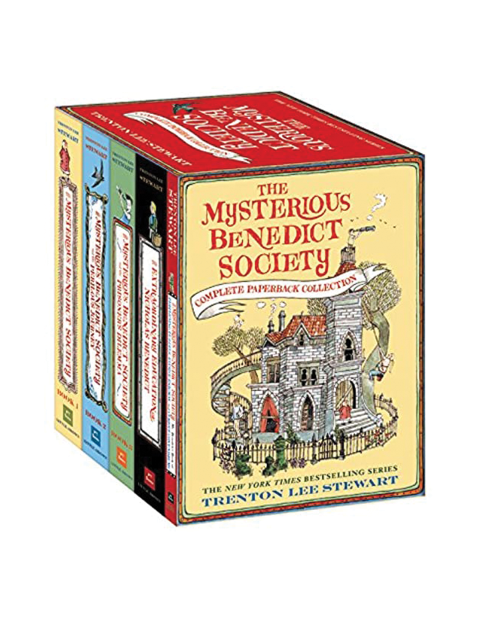 The Mysterious Benedict Society Boxed Set