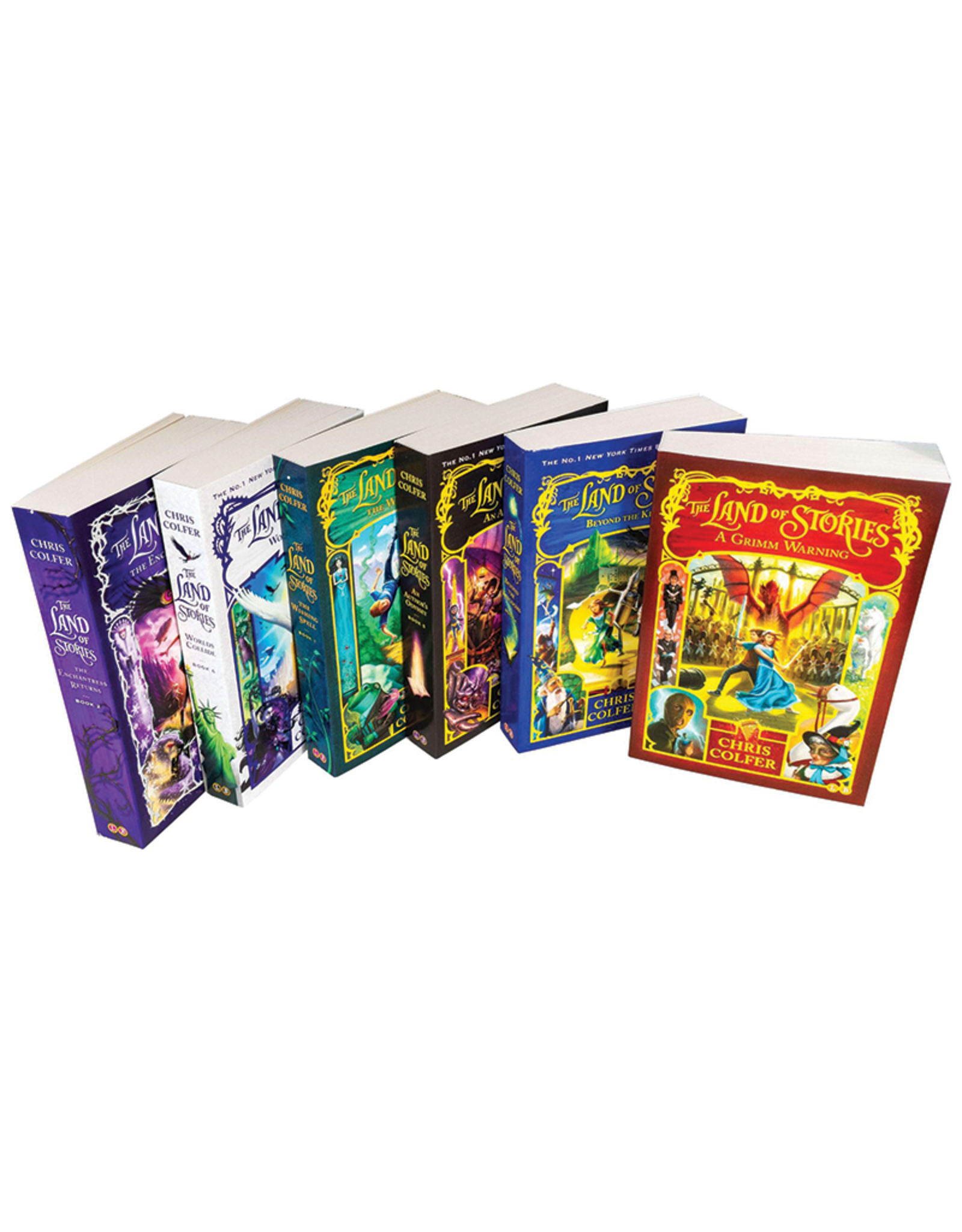 The Land of Stories Boxed Set