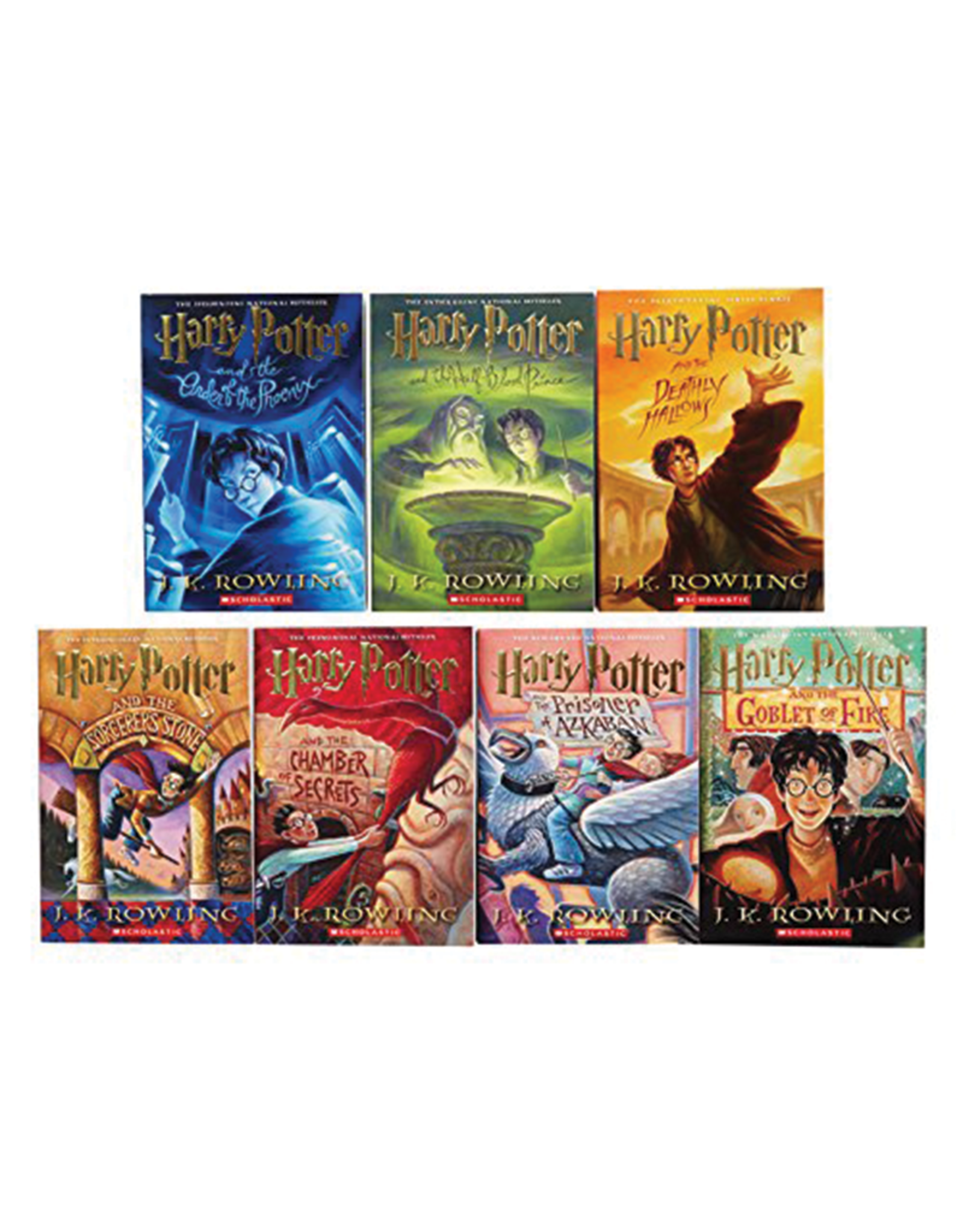 Harry Potter Complete Boxed Set