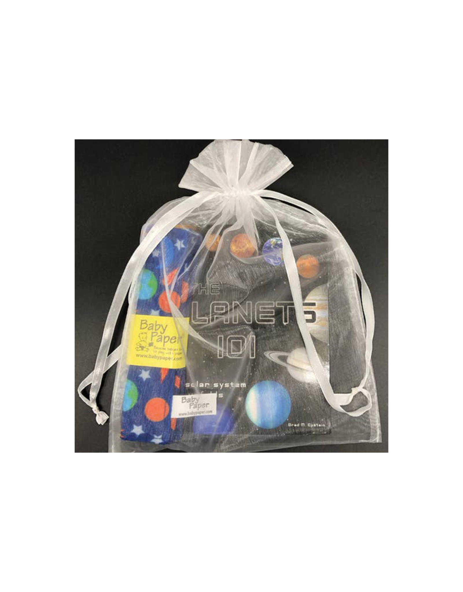 Baby Paper Solar System Baby Gift Set