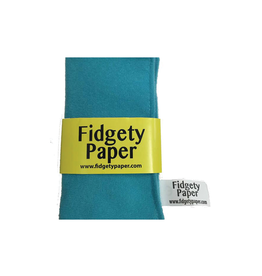 Baby Paper Turquoise Pocket Fidgety Paper