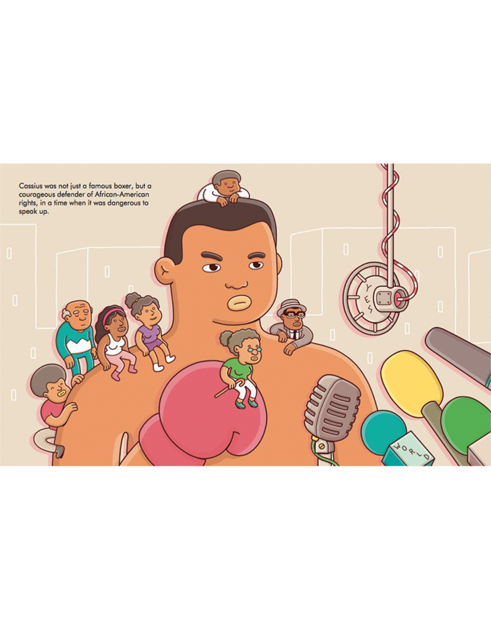 Little People Big Dreams My First Muhammad Ali:  Little People, Big Dreams