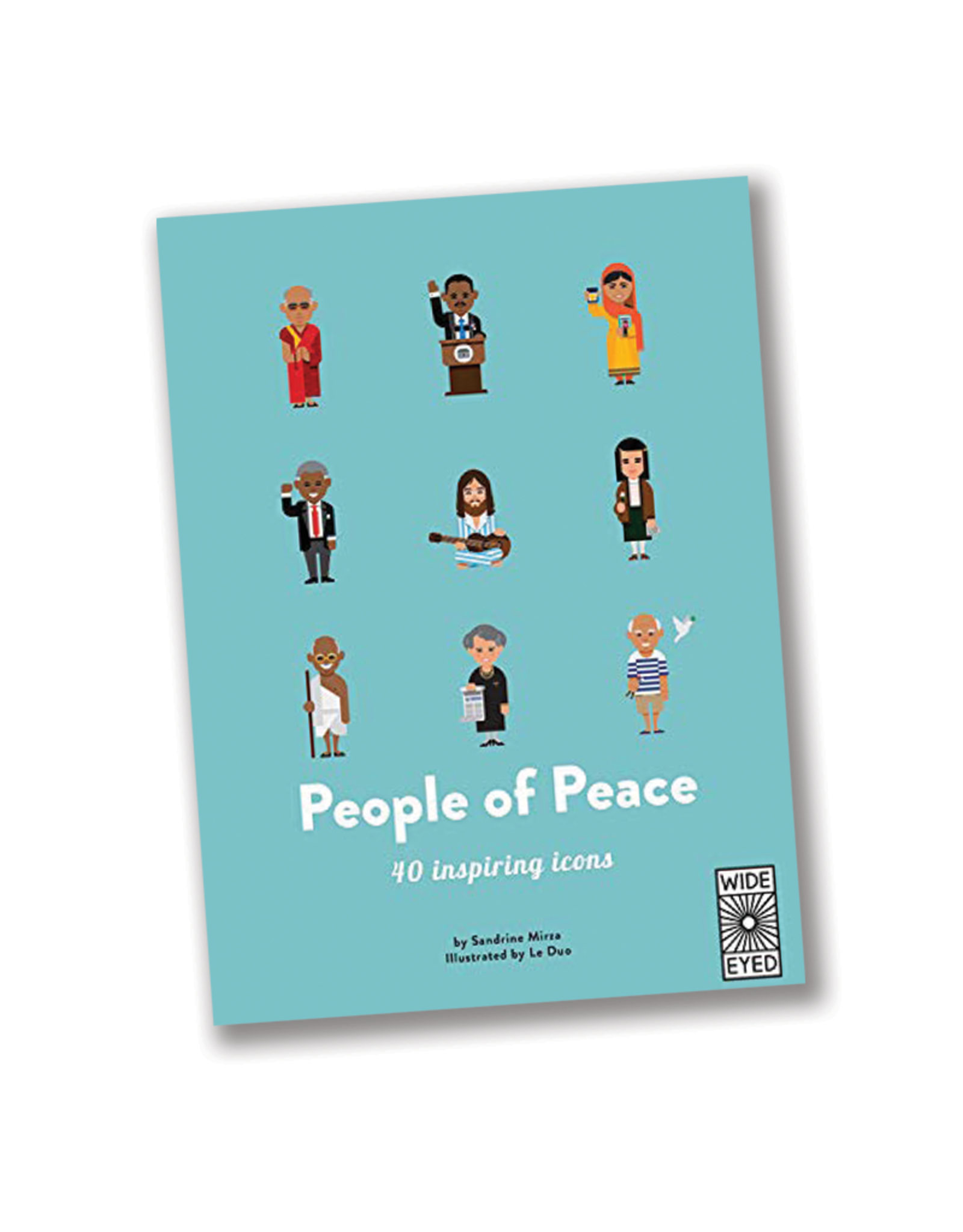 Wide Eyed Editions People of Peace:  40 Inspiring Icons
