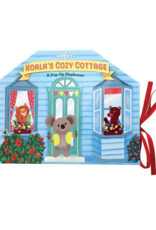 eeBoo Koala's Cozy Cottage:  A Pop-Up Playhouse