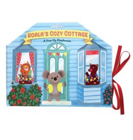 eeBoo Koala's Cozy Cottage:  A Pop-Up Playhouse