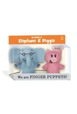 Yottoy Elephant & Piggie Finger Puppets