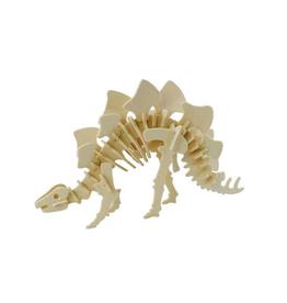 3D Wooden Stegosaurs Puzzle