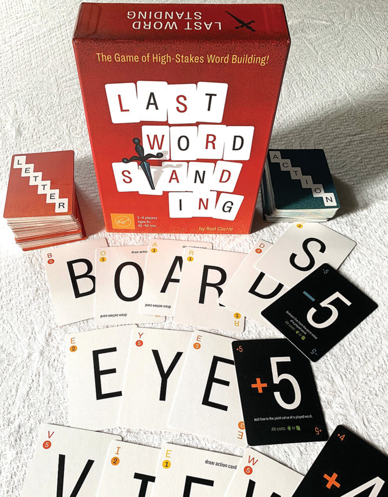Last Word Standing:  Game of High-Stakes Word-Building