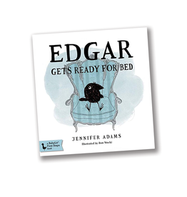 "BabyLit Edgar Gets Ready for Bed:  A BabyLit® Board Book Inspired by Edgar Allan Poe's ""The Raven"""