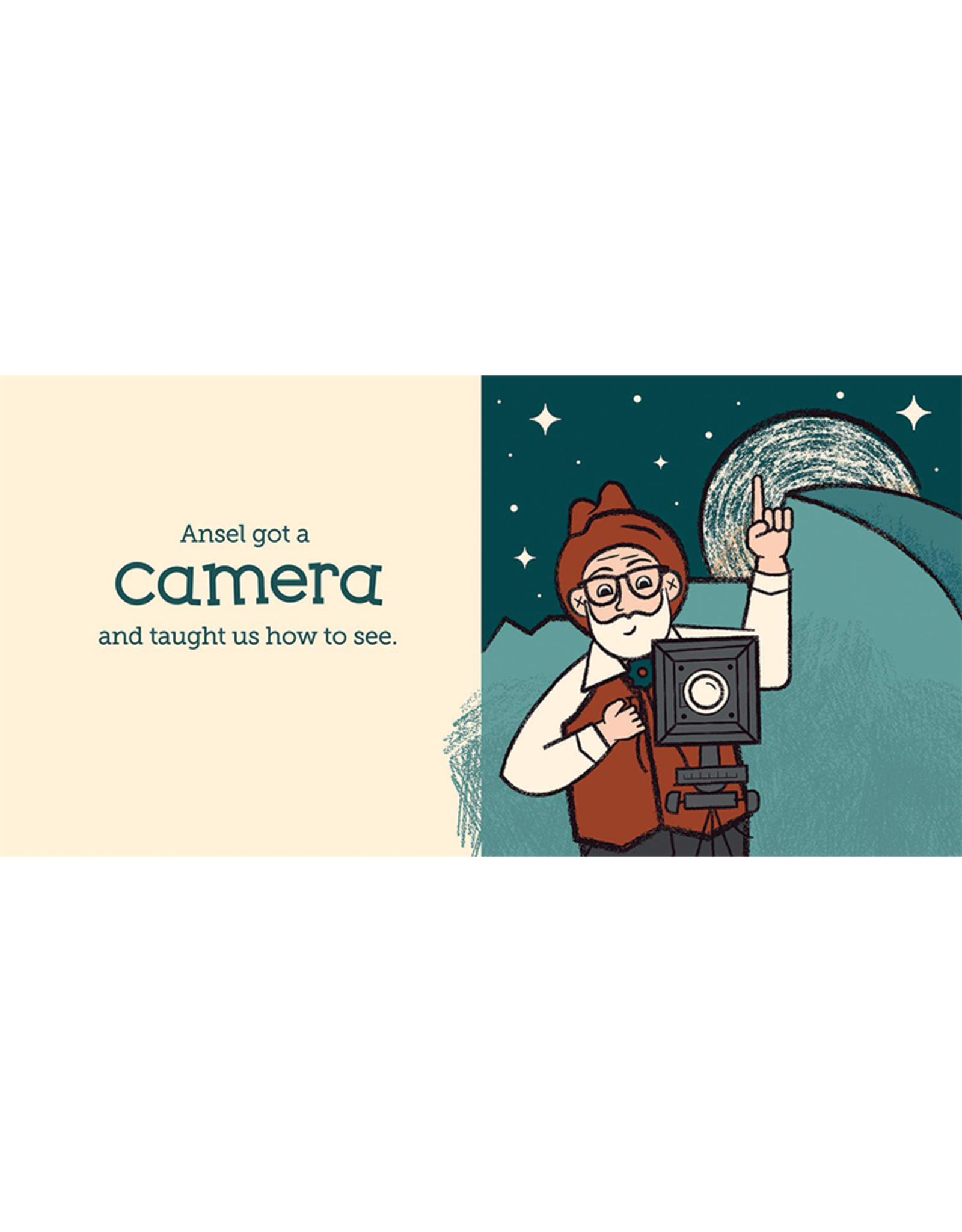 BabyLit Little Naturalists:  Ansel Adams and His Camera