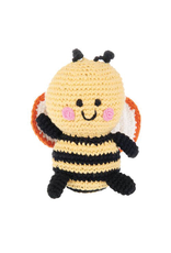 Pebble Friendly Bumble Bee Knitted Rattle