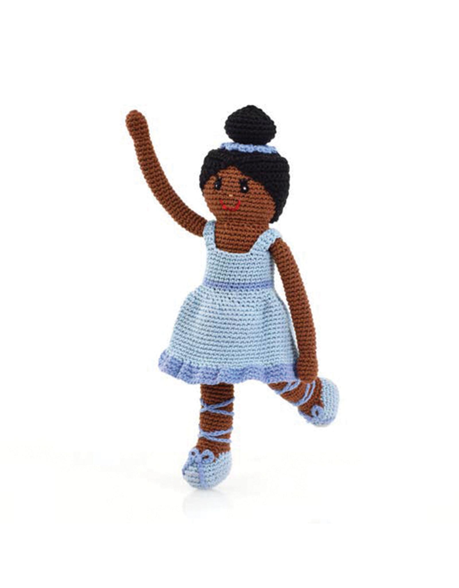 Pebble Knitted Ballerina Blue Tutu