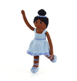 Pebble Knitted Ballerina Blue Tutu