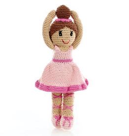 Pebble Knitted Ballerina Pink Tutu