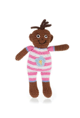 Pebble Baby Doll, Pink Suit
