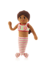 Pebble Storytime Mermaid Knitted Doll