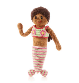 Pebble Storytime Mermaid Knitted Doll