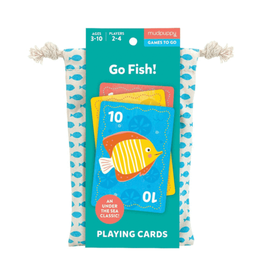Mudpuppy Go Fish! Card Game to Go