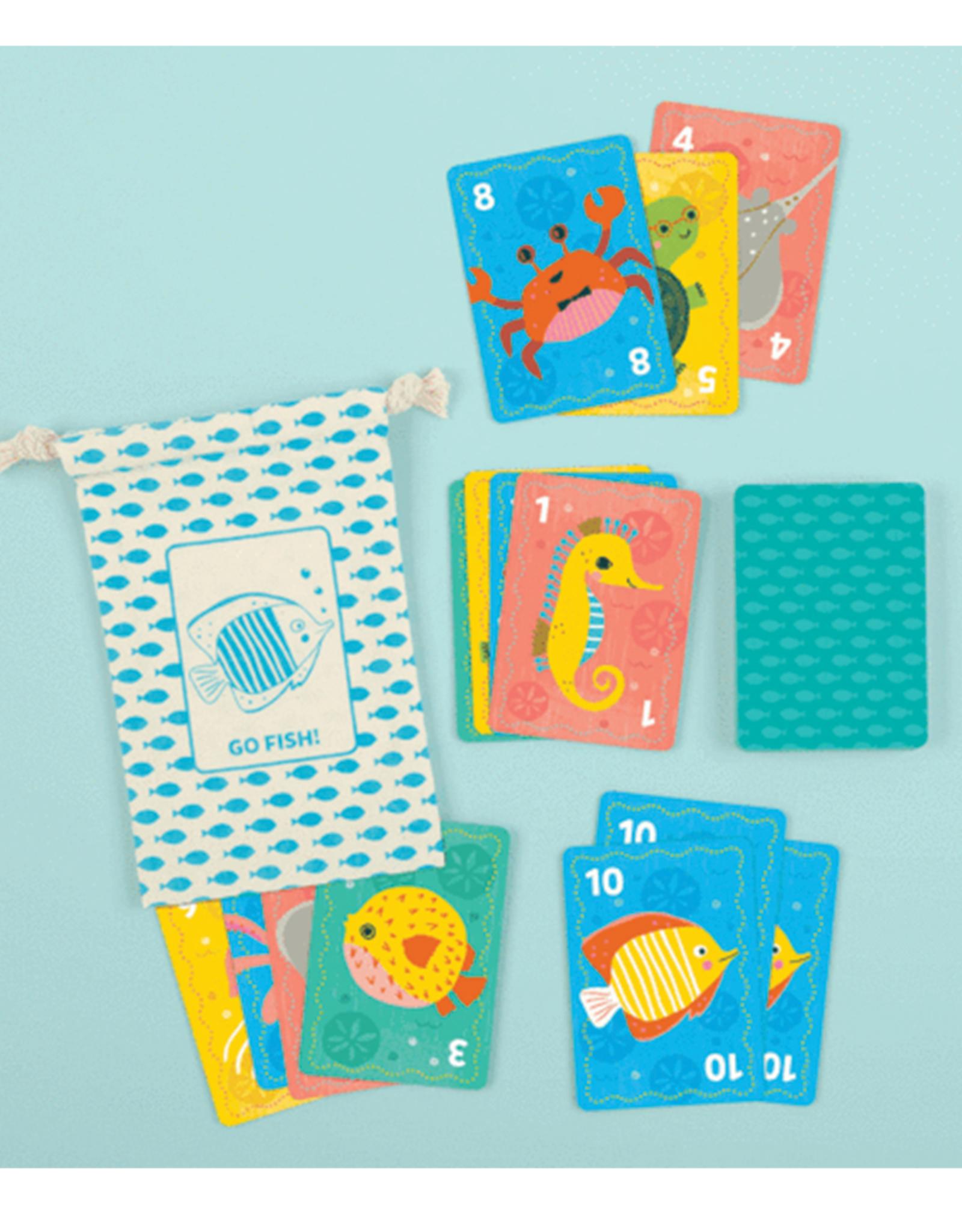 Mudpuppy Go Fish! Card Game to Go