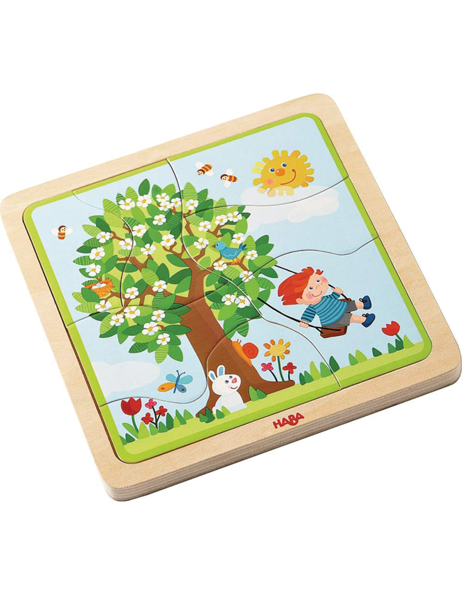 Haba Haba My Time of the Year Wooden Puzzle