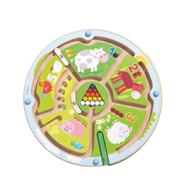 Haba Haba Farm Animals Numbermaze Magnetic Game