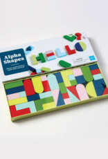 Alpha Shapes Wooden Blocks