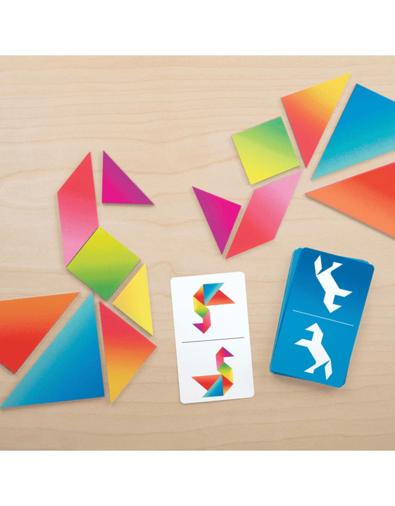 Tangram Race Game