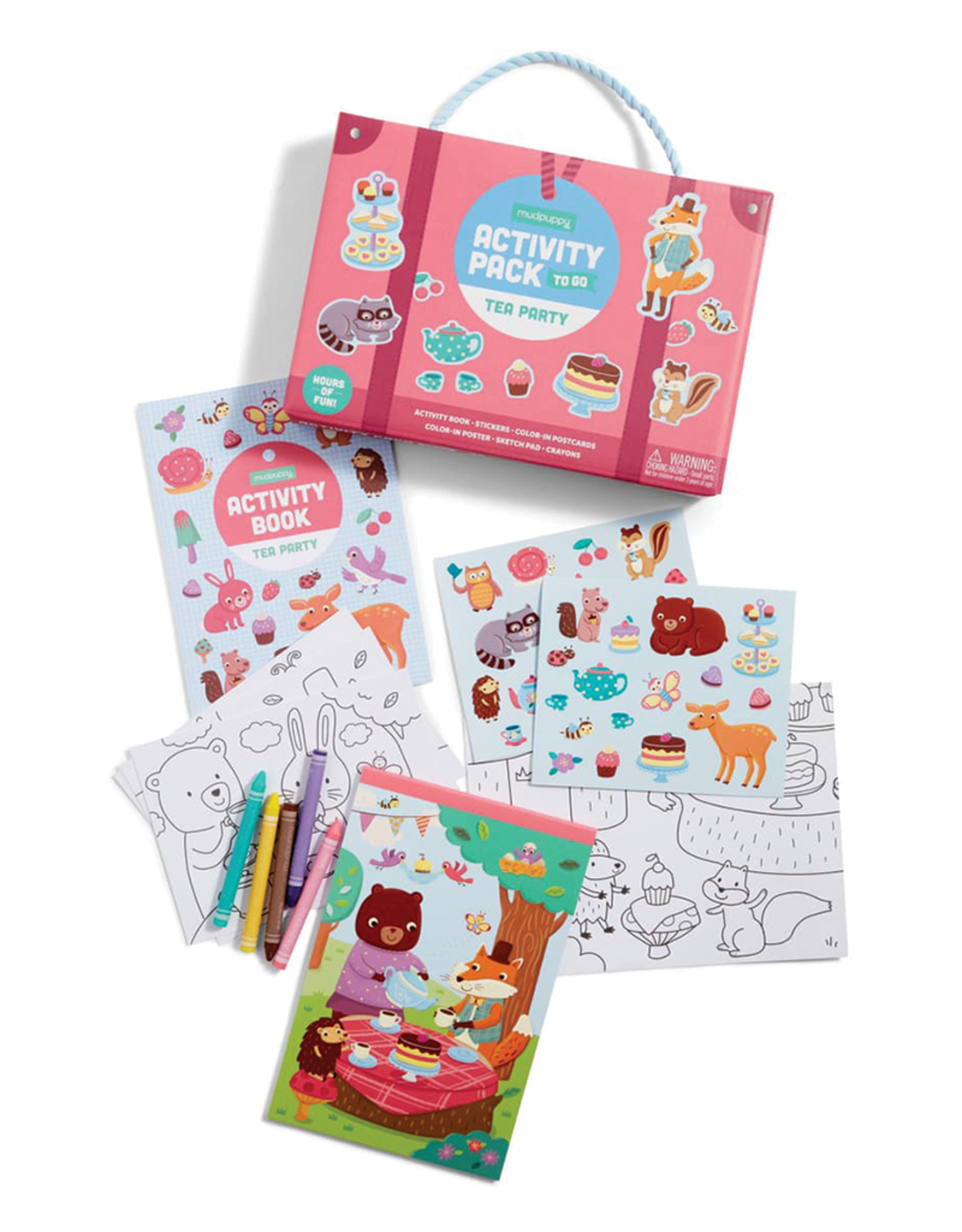 Mudpuppy Tea Party:  Activity Pack to Go