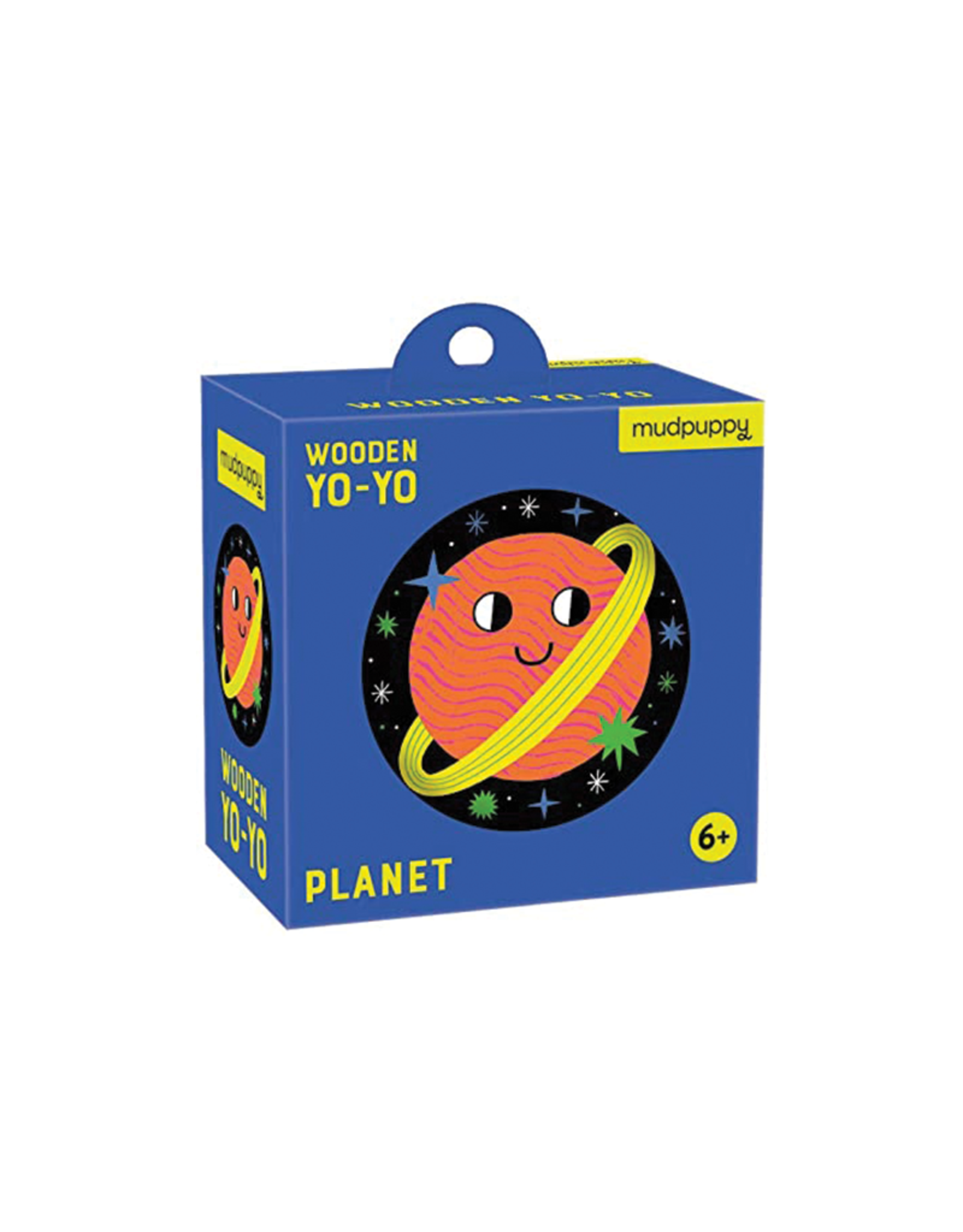 Mudpuppy Space Planet Wooden Yo-Yo