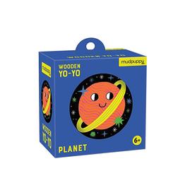 Mudpuppy Space Planet Wooden Yo-Yo