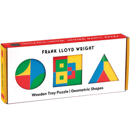 Mudpuppy Frank Lloyd Wright Wooden Puzzle