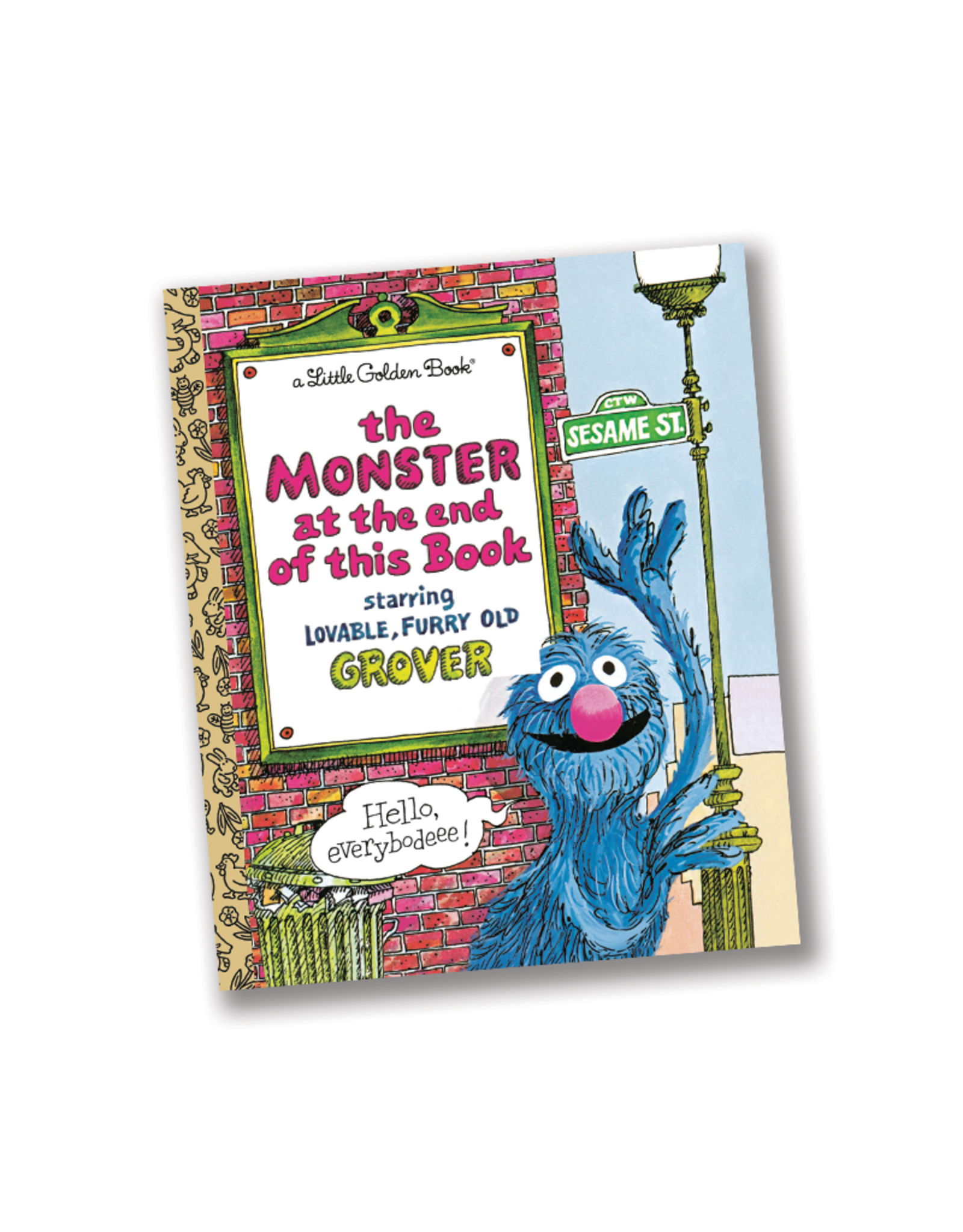 The Monster at the End of this Book (Little Golden Book)