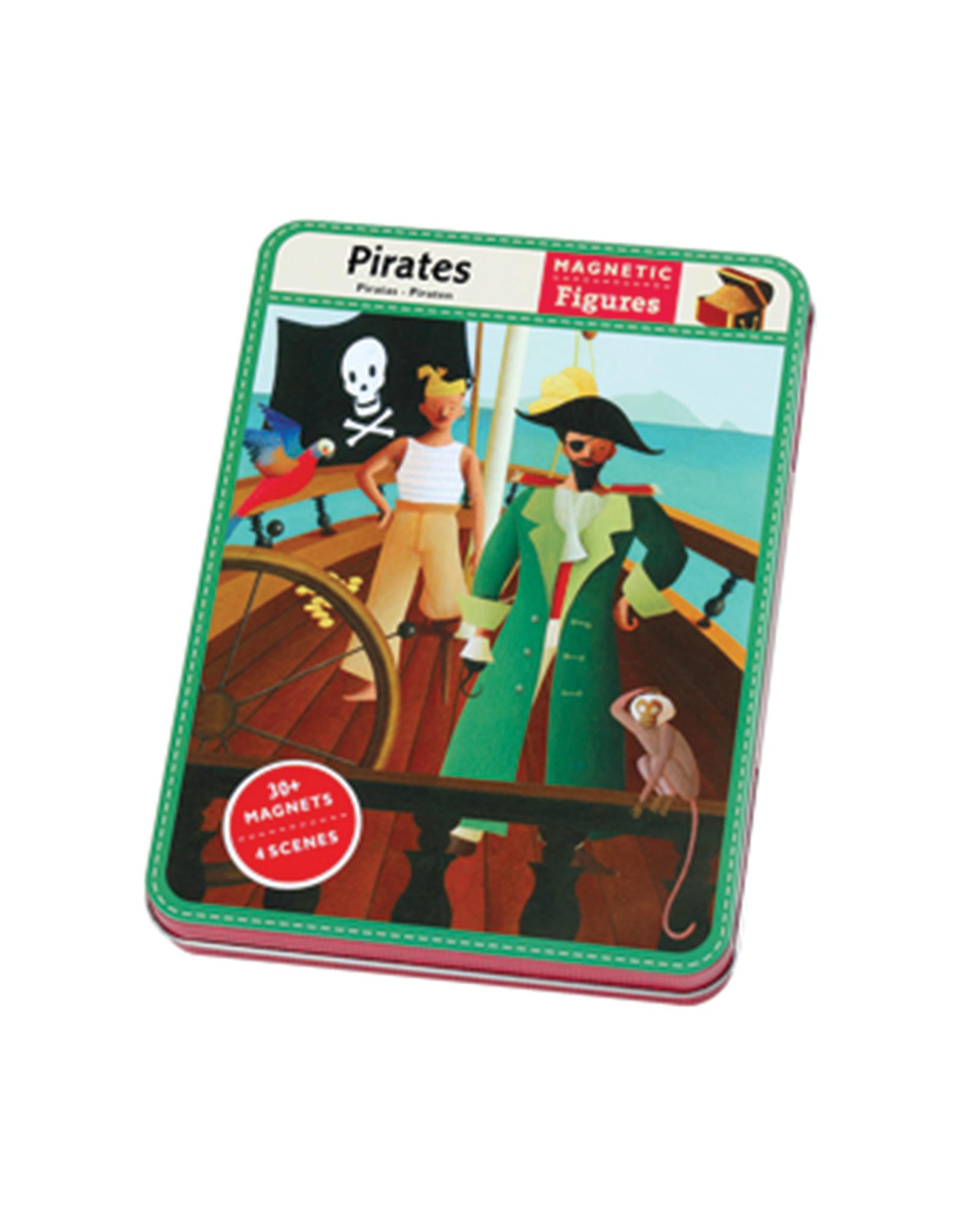 Mudpuppy Magnetic Pirates Travel Tin