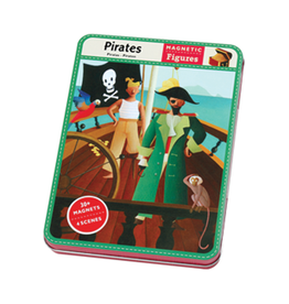 Mudpuppy Magnetic Pirates Travel Tin