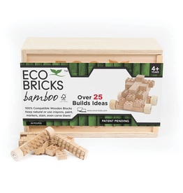 Eco Bricks Bamboo, 24 Pieces