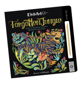 Wide Eyed Editions EtchArt:  Forgotten Jungle