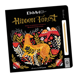 Wide Eyed Editions Etchart:  Hidden Forest