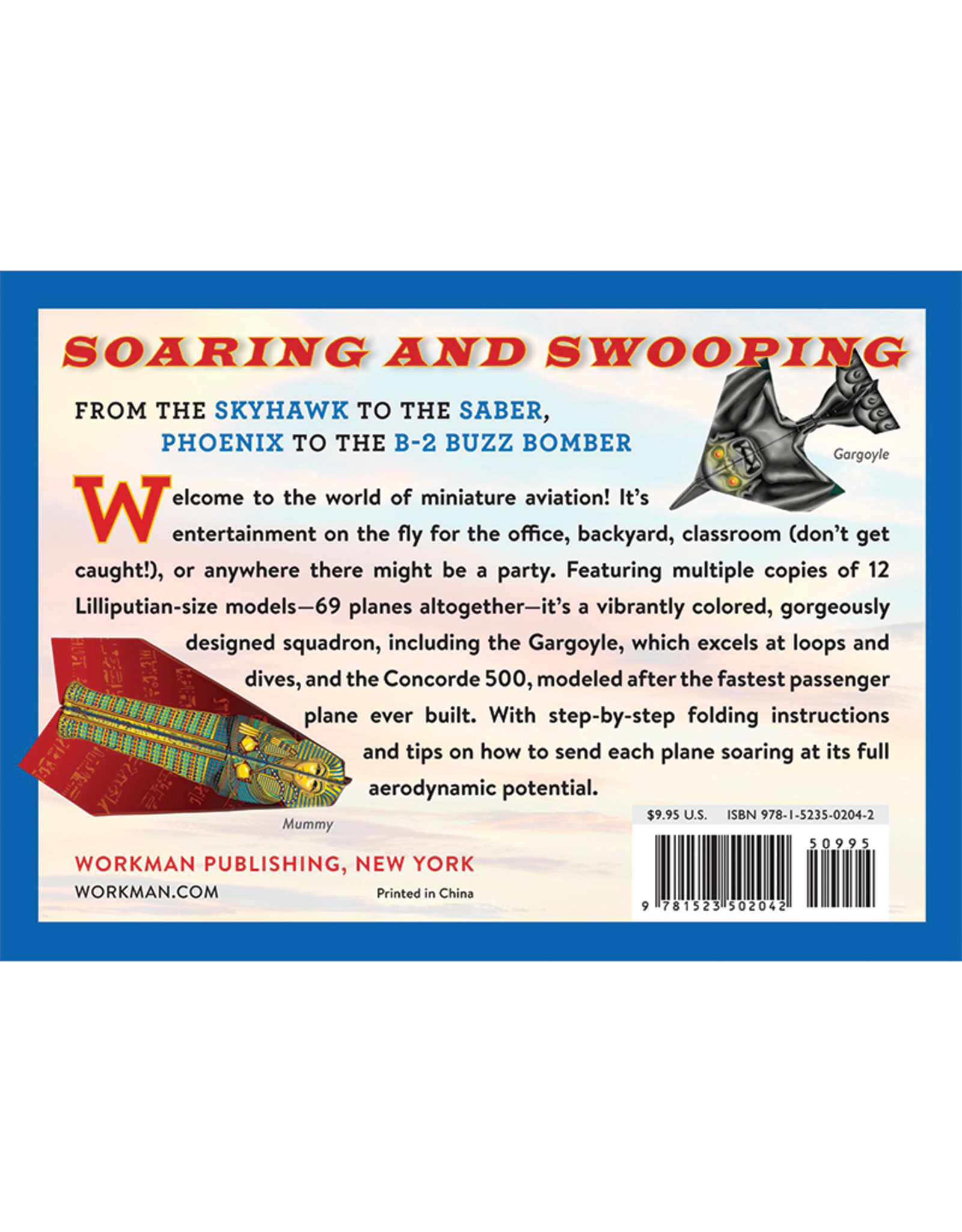 Workman Publishing Pocket Flyers Paper Airplane Book