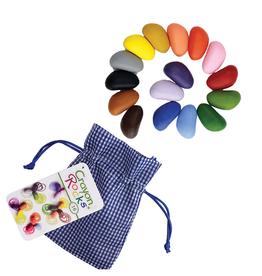 Crayon Rocks Crayon Rocks, 16 colors in Gingham Bag