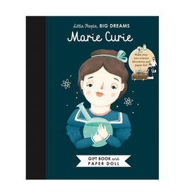 Little People Big Dreams Marie Curie, Book & Paper Dolls:  Little People, Big Dreams