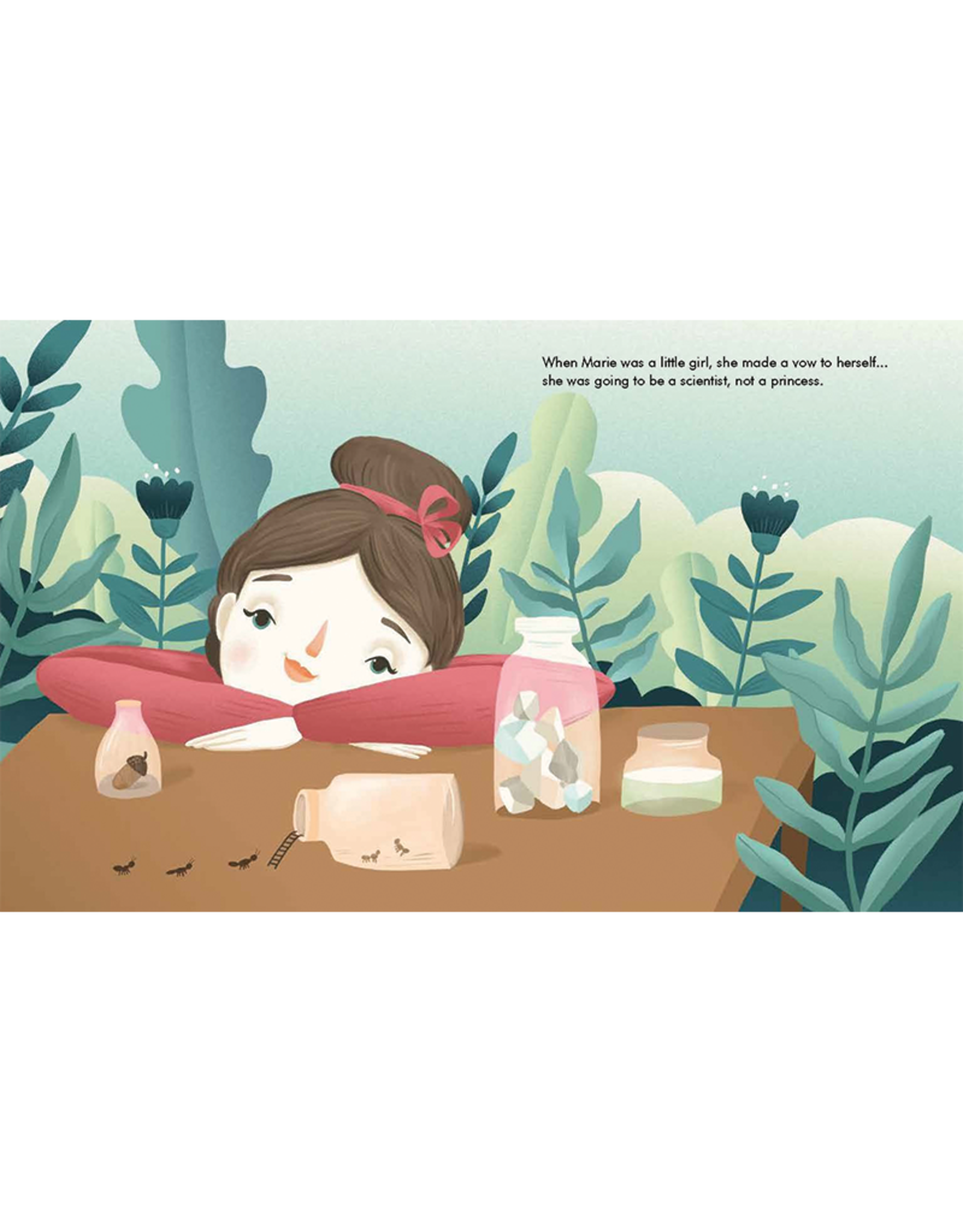Little People Big Dreams Marie Curie, Book & Paper Dolls:  Little People, Big Dreams