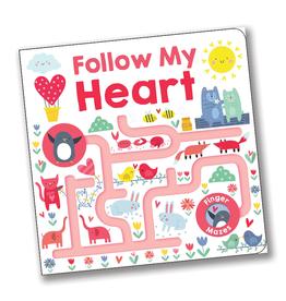 Follow My Heart:  Maze Book