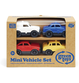 Green Toys Green Toys Mini Vehicle Set, 4-Pack
