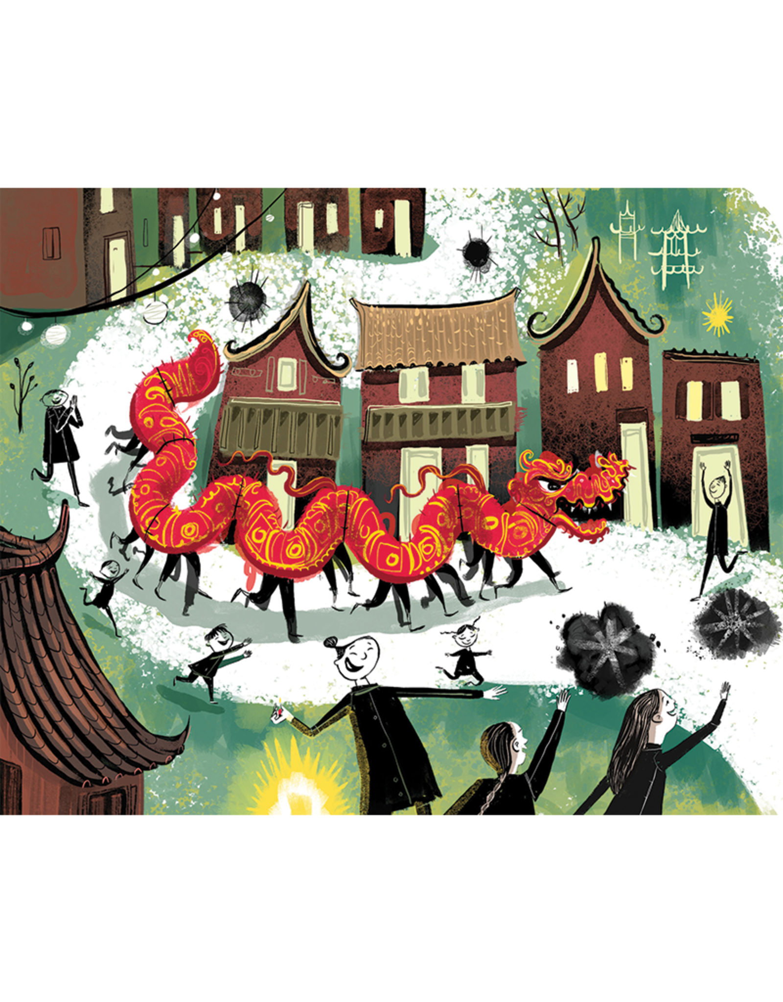 Sleeping Bear Press Nian, The Chinese New Year Dragon