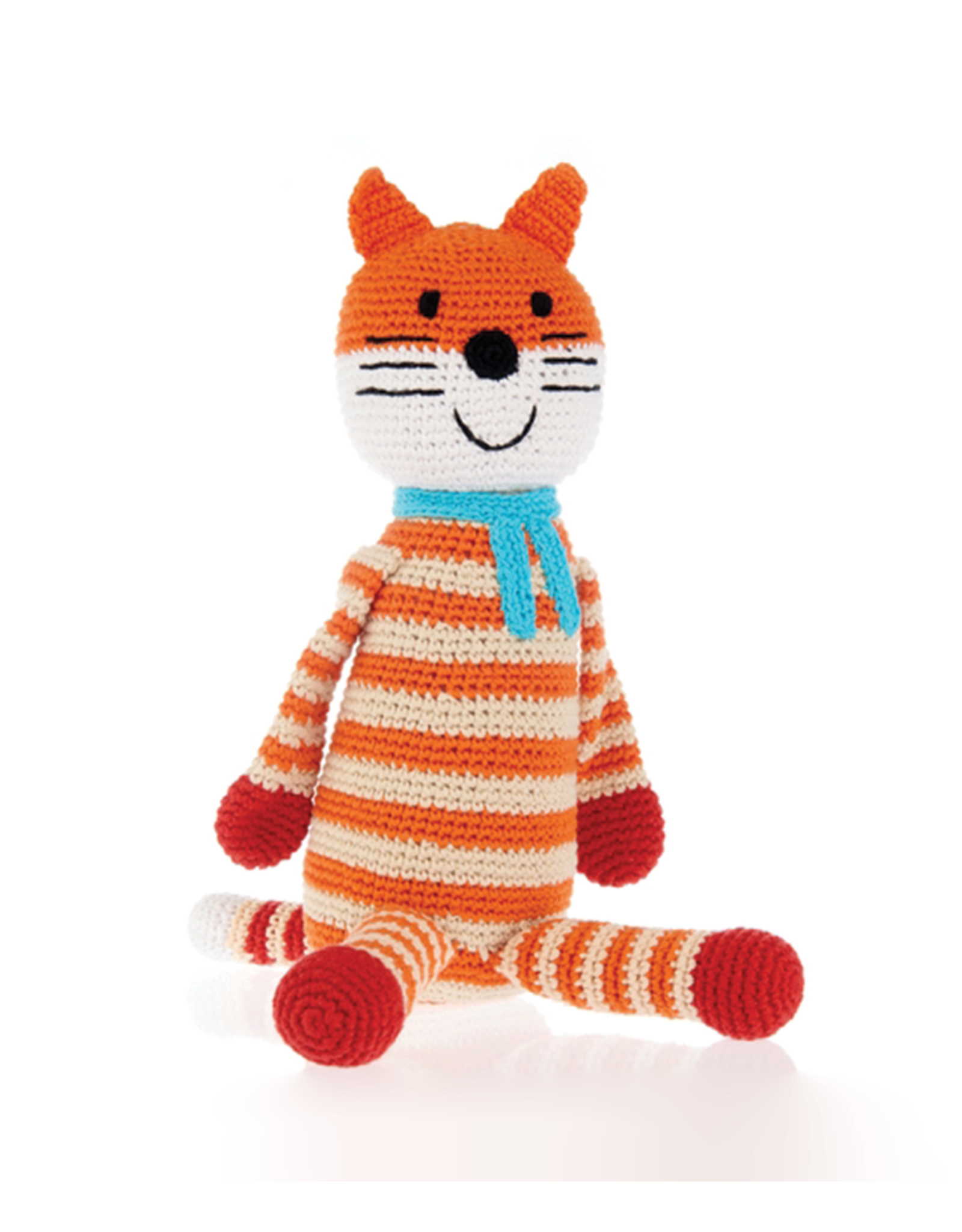 Pebble Large Knitted Fox Dall