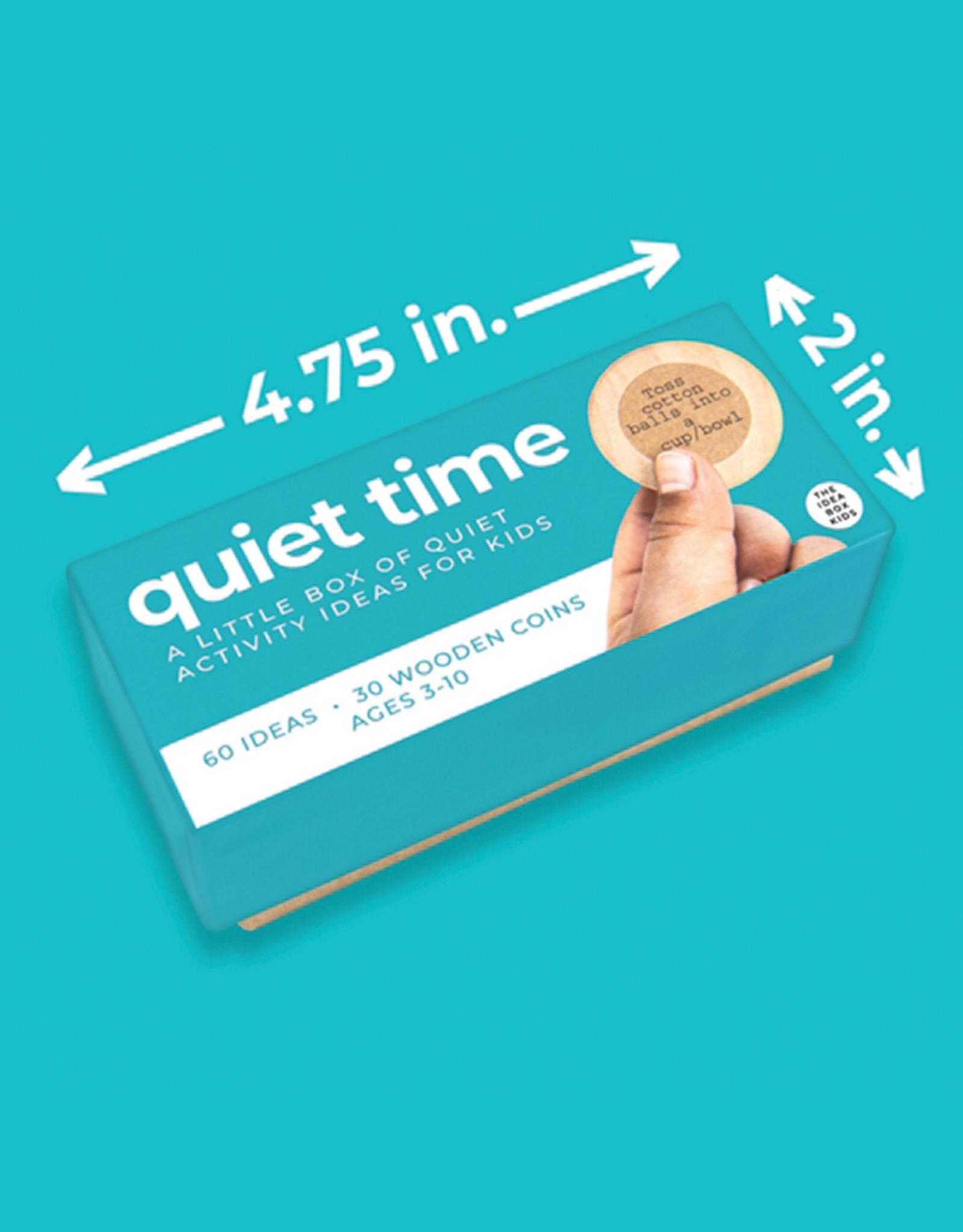 The Idea Box Kids Quiet Time Idea Box for Kids