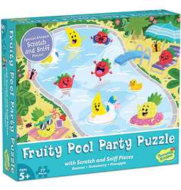Fruity Pool Party Scratch & Sniff Puzzle