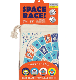 Mudpuppy Space Race! Travel Game