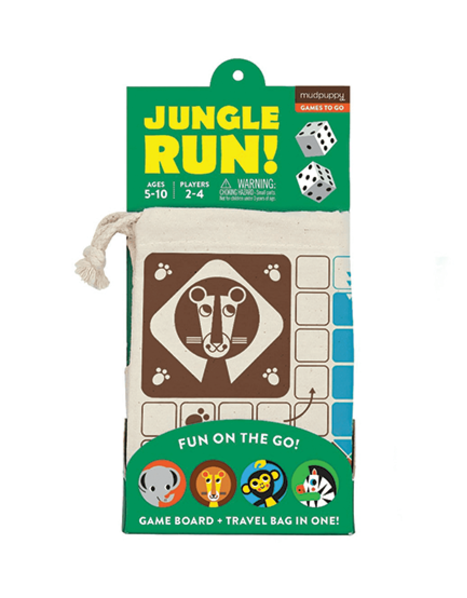 Mudpuppy Jungle Run! Travel Game